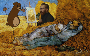 Van Gogh and the Bear